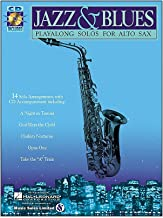 Jazz & Blues (Alto Sax) - Play-Along Solos - BK+CD