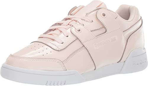 Reebok Wohommes Without Lo Plus Iridescent Walking chaussures, Pale rose blanc, 8 M US