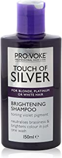 Pro:voke Touch of Silver Professional Twice a Week Brightening Shampoo (150ml) - Pack of 2 by Pro-Voke