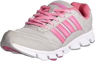 Columbus Women's Grey & Pink Running Shoes