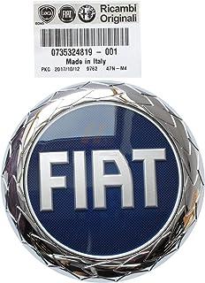 Fregio Escudo Logo Fiat 2007 3 pasadores Ducato trasera 120 mm