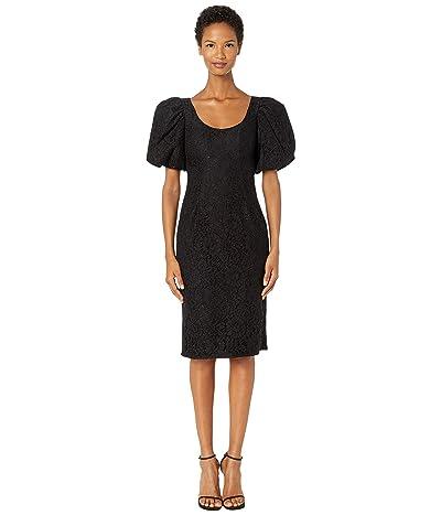 ZAC Zac Posen Terry Dress (Black) Women