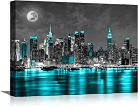 NEW YORK Canvas Print Framed Wall Art Picture Photo Image 9020116