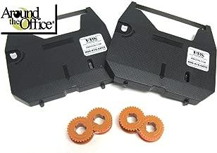 2 Ribbons / 2 Correction Tapes K Series Typewriter Ribbons and Correction Tapes for All Smith Corona Wordsmith Typewriters Models 100 and 250