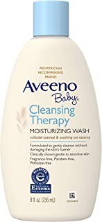 Aveeno Baby Cleansing Therapy Moisturizing Wash with Soothing Natural Colloidal Oatmeal for Sensitive Skin. Hypoallergeni...