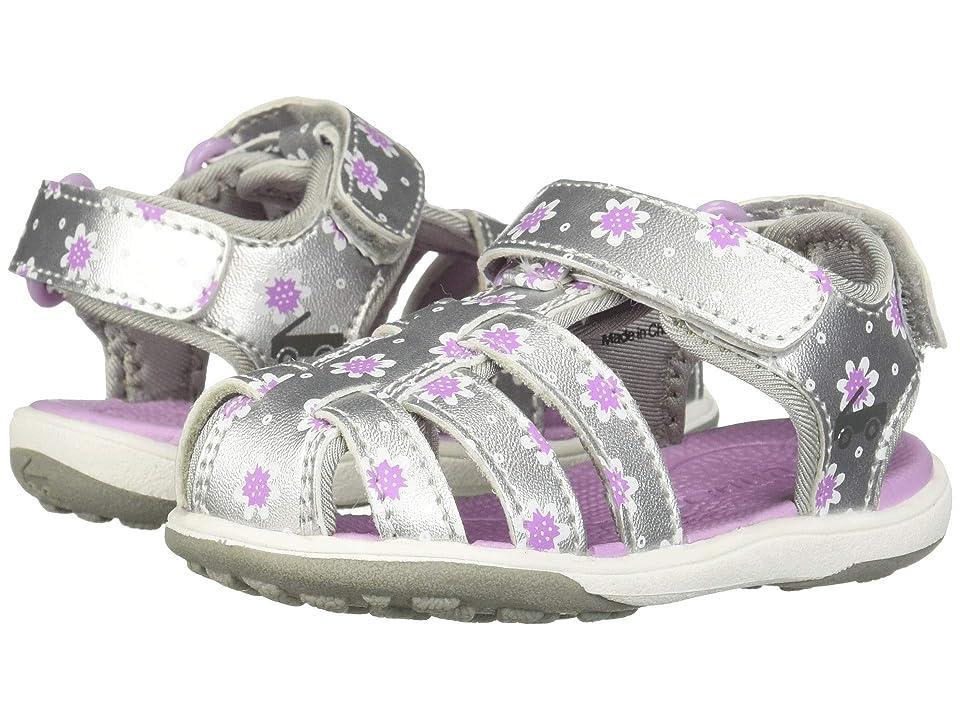 See Kai Run Kids Paley II (Toddler/Little Kid) (Silver/Purple) Girl