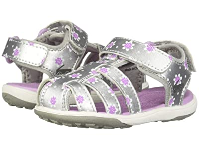 See Kai Run Kids Paley II (Toddler/Little Kid) (Silver/Purple) Girl