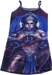 Artisans Orissa God Goddess Print Cotton Tank Top for Girl/Women