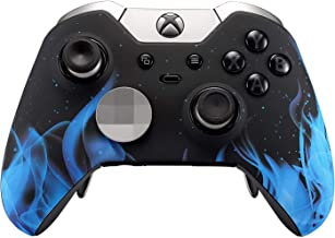 Xbox One Elite Custom Controller for Xbox One - Soft Touch (Blue Flame)