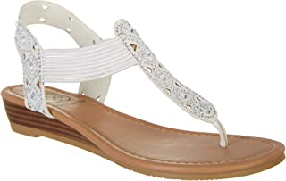 Daisy Fuentes Womens Gennie Sandals
