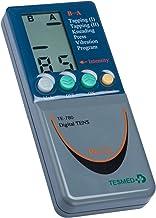 Tesmed 780 electroestimulador digital, 2/4 canales, EMS/TENS/Masaje, 8 electrodes, 49 programas