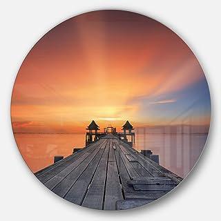 Designart MT10616-C23 Metal Wall Art Disc of 23 inch, 23X23-Disc
