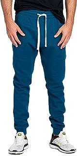 PROCUBE USA ProGo Men's Casual Jogger Sweatpants Basic Fleece Marled Jogger Pant Elastic Waist (XXX-Large, Midnight)