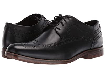Rockport Style Purpose 3 Wing Tip (Black) Men
