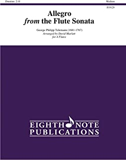 Allegro: From the Flute Sonata (Score & Parts)