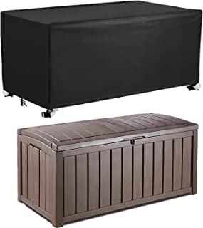 EPCOVER Patio Deck Box Cover to Protect Large Deck Boxes 62