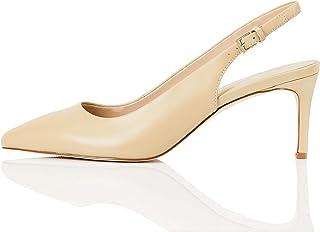 Marque Amazon - find. Fern-s-sh-1-70, Sling Back Heels Femme