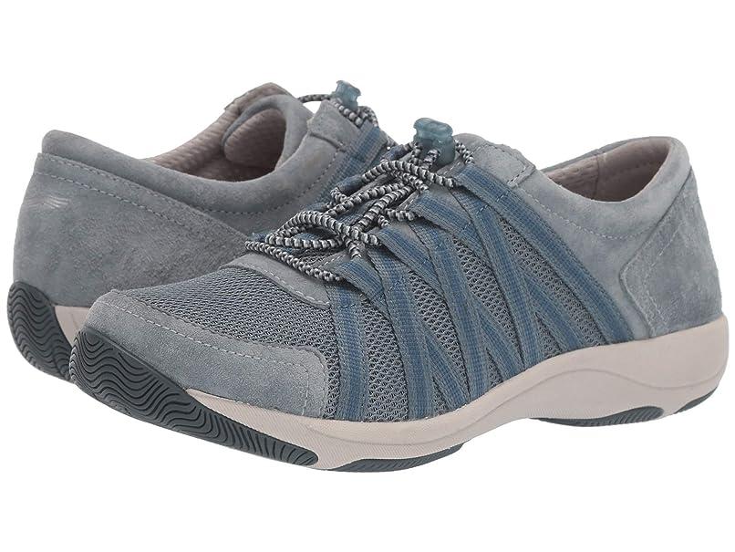 [ダンスコ] レディースウォーキングシューズ?カジュアルスニーカー?靴 Honor Slate Suede 38 (US Women's 7.5-8) (24-24.5cm) Regular [並行輸入品]