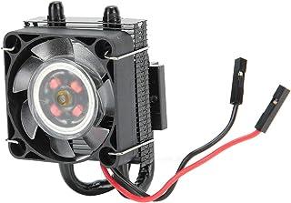 PUSOKEI para Raspberry Pi 4B 3B + 3B Ventilador con Ice Tower Disipador de Calor Ventilador de refrigeración Ventilador de...