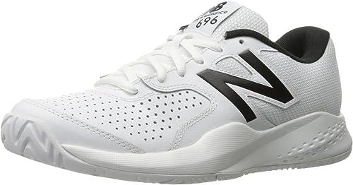 New Balance MC696v3, Herren Tennisschuhe Parent, Weiß Weiß - Größe