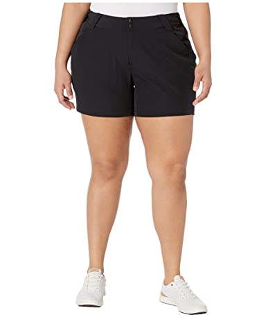 Columbia Plus Size Coral Pointtm III Shorts (Black) Women