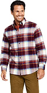 extra heavyweight brawny plaid flannel shirt