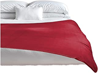 Sponsored Ad - TOP 100% Waterproof Blanket Red/Grey Jumbo 80x60 for Adults and Pets. Keeps Everything Dry No Matter How We...