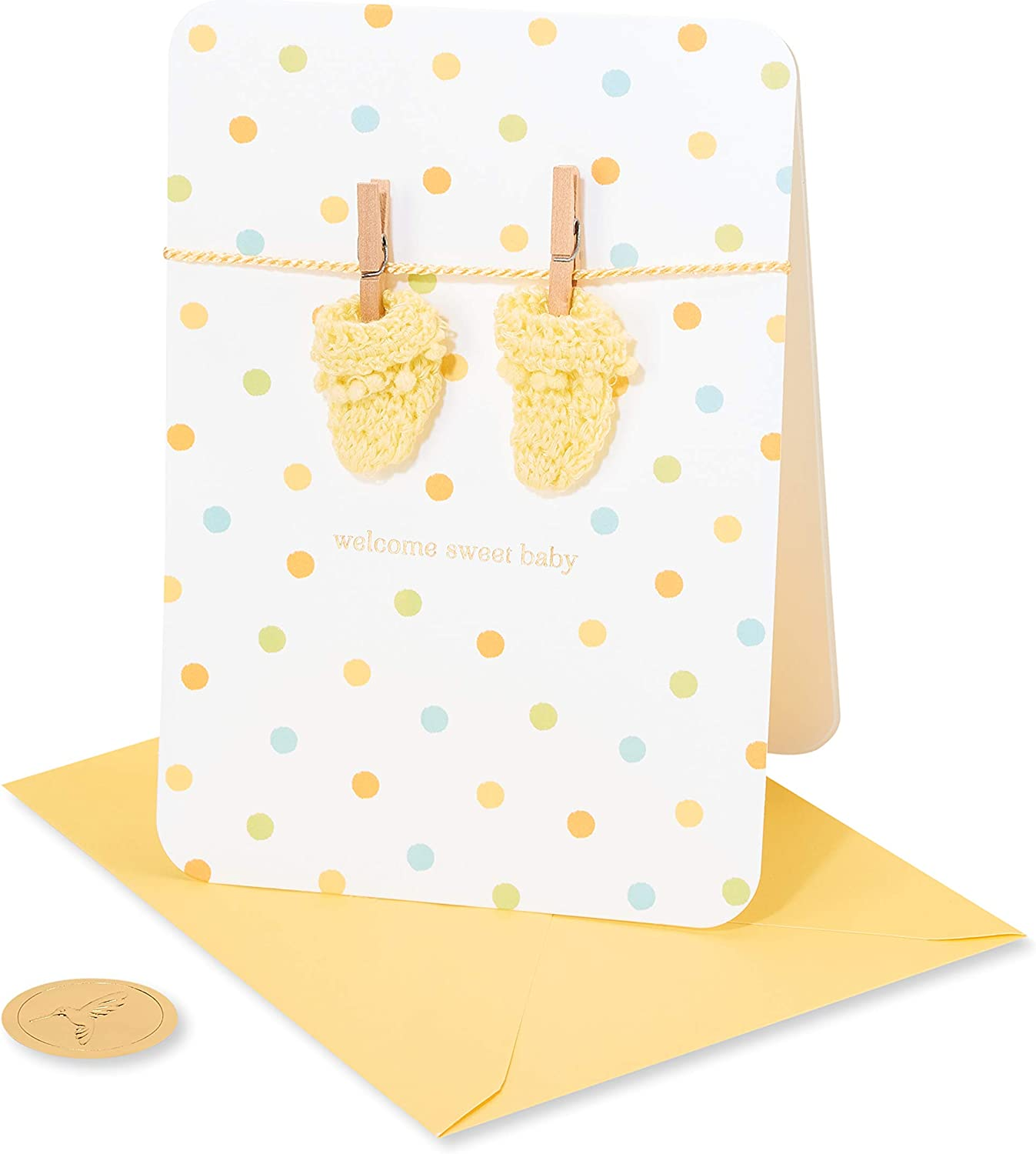 Papyrus Baby Shower Card (Warmest Welcome)