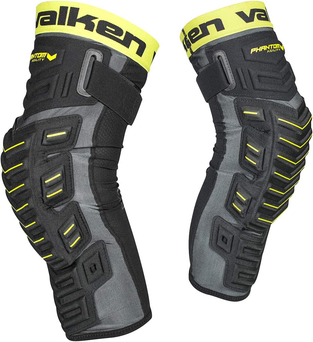 Valken Paintball Phantom Agility Knee - Black Sales of SALE items from new works Pads Our shop OFFers the best service 2XL