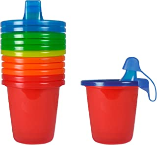 The First Years Take & Toss Spill-Proof 7 Ounce Cups 6 ea Assorted Colors, Colors May Vary, 7 Ounce