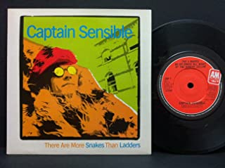 "There Are More Snakes Than Ladders - Captain Sensible 7"" 45"
