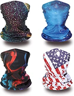 Kids Neck Gaiter Kids Summer Face Covering for Children...