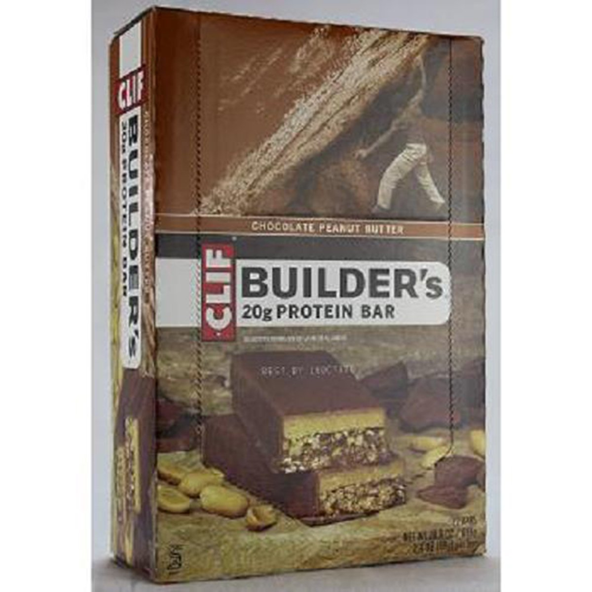 Clif Builders Chocolate Peanut Butter Bar Protein 2. 12 Outlet ☆ Free 70% OFF Outlet Shipping Count