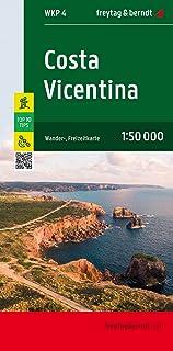 Costa Vicentina, Wanderkarte 1:50.000: Wanderkartenset mit zwei Blättern und Beiheft: WKP 4