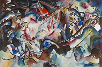 Berkin Arts Wassily Kandinsky Giclee Art Paper Print Art Works Paintings Poster Reproduction(Untitled 3)