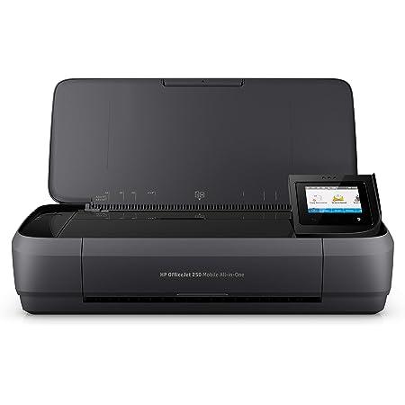 HP Officejet Mobile 250 Imprimante portable Multifonction jet d'encre couleur (10 ppm, 4800 x 1200 ppp, USB, Wifi)