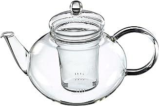 Trendglas Jena Miko dzbanek do herbaty klasyczny design ze szklanym sitkiem, 1,2 l