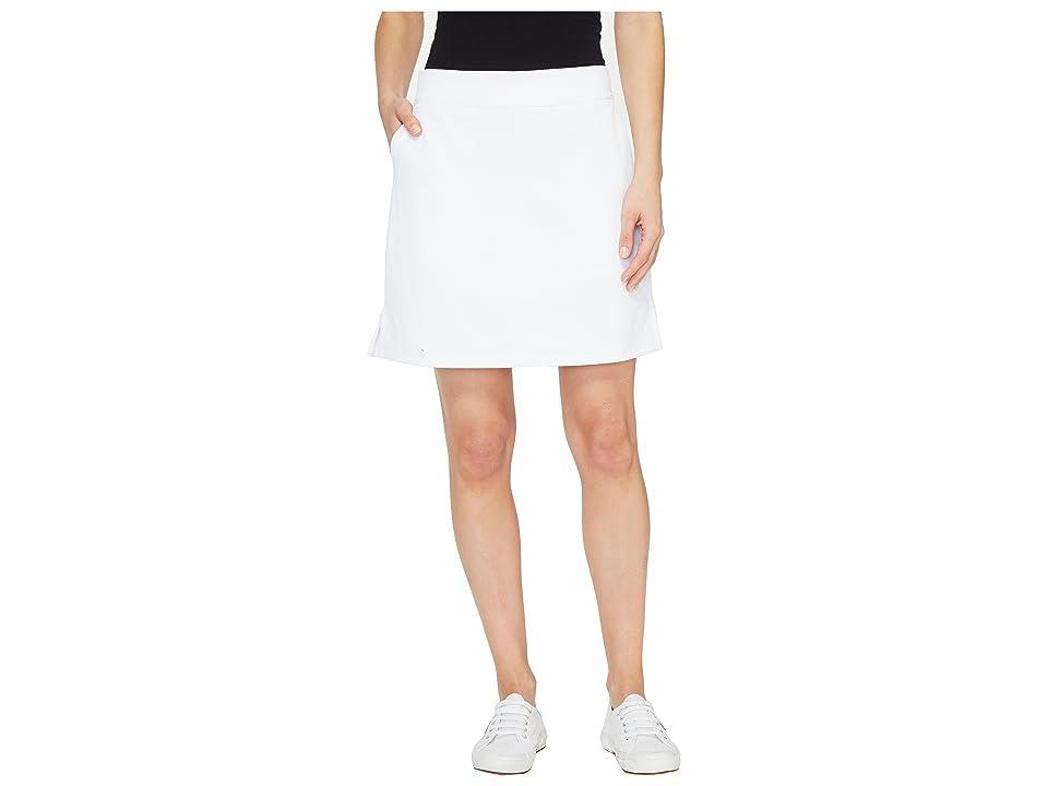 Vineyard Vines Golf Solid Pull-On Skort (White Cap) Women