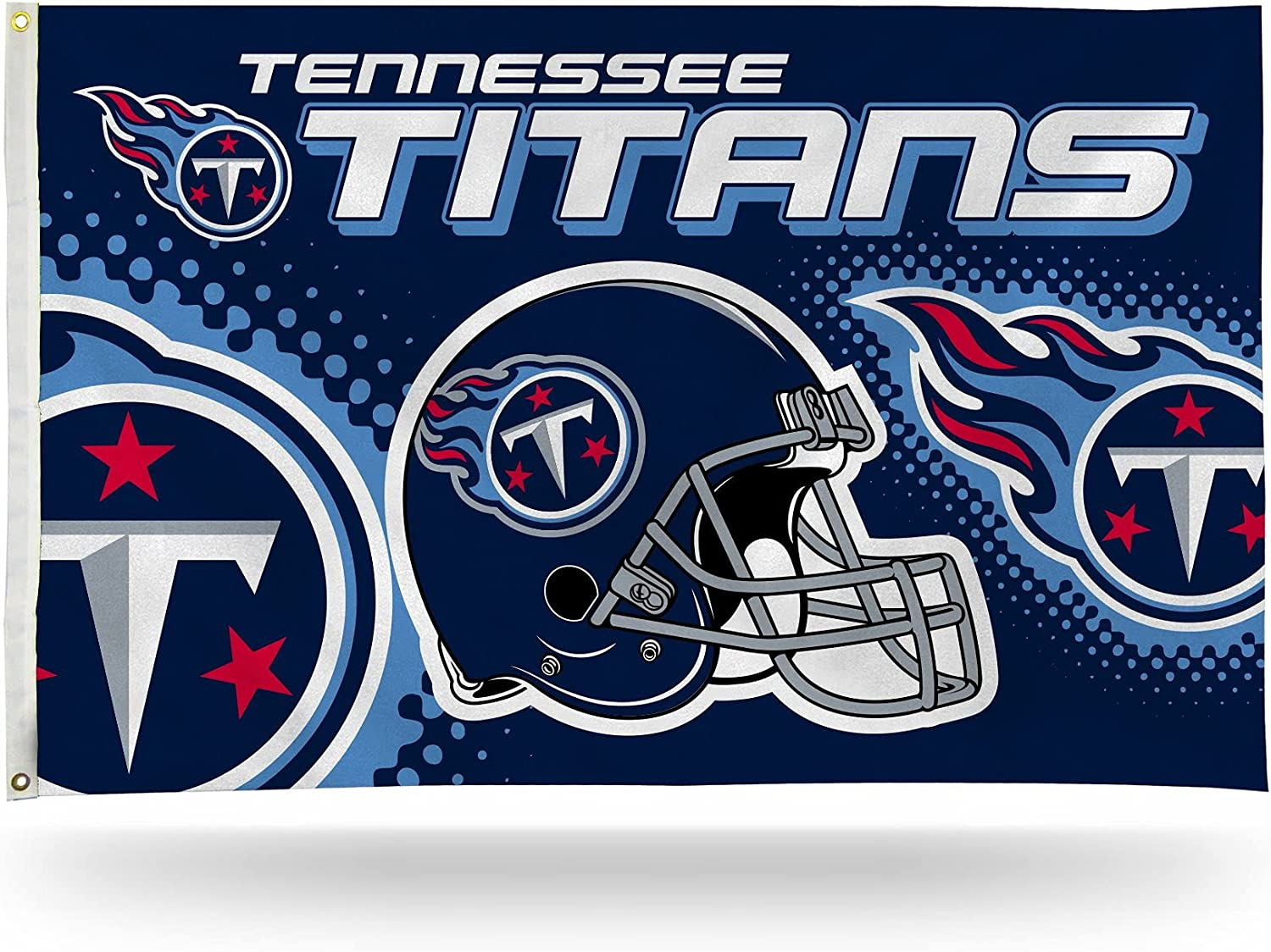 NFL Tennessee Titans Helmet 3-Foot Single Over Challenge the lowest price of Japan item handling ☆ Banner Sided 5-Foot by