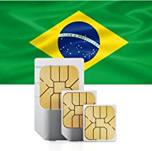 Brazil 3GB Prepaid Fast Internet Data SIM 42 Countries Instant Connection 30 Day Plan