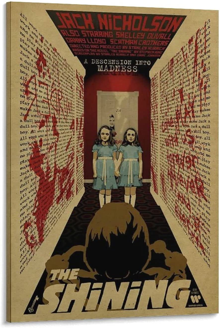 CONYASK The Shining Poster Excellence 3 Horror Movie San Francisco Mall Reasoning Print