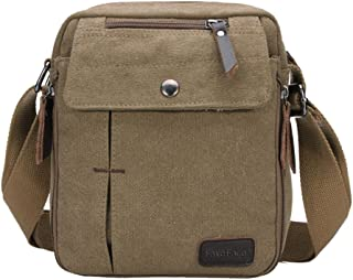 Outdoor Travel School Messenger Bag Satchel Casual Waterproof Canvas Shoulder Bag Crossbody Handbag