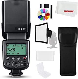 Godox TT600 2.4G Trådlös GN60 Master/slavkamera blixt med inbyggd trigger Speedlite för Canon Nikon Pentax Olympus Fujifil...
