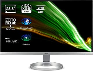 Acer R240Ysi 23,8 inch Full HD 75 Hz (60 cm, 1920 x 1080, IPS-LED-display, ZeroFrame en FreeSync, reactietijd 1 ms (VRB), ...