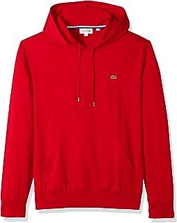 Men's Long Sleeve Hooded Jersey Cotton T-Shirt Hoodie