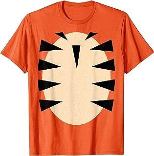 Tiger T-Shirt Tiger Costume Shirt T-Shirt