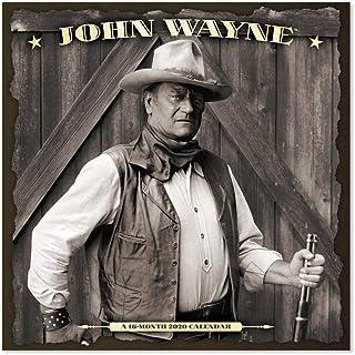 2020 John Wayne Wall Calendar (DDW1042820)