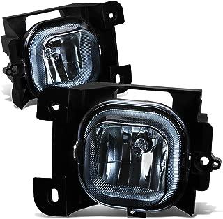 For 04-05 Ford Ranger Pair of Bumper Driving Fog Lights (Smoke Lens)