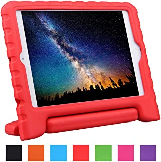 NEWSTYLE Apple iPad Mini Shockproof Kids Case Super Protection Cover Handle Stand Case for Kids Children for Apple iPad Mini 3rd Gen (2014 Released) / iPad Mini 2 with Retina Display/iPad Mini (Red)