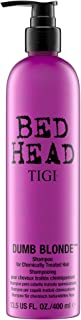 TIGI Bed Head Dumb Blonde Shampoo - Protects & Repairs Chemcially Treated Hair, Restore Moisture, Reduce Frizz, Increase Manageability, Colour Safe, with Keratin & Milk Protein 25.36 Ounce (Pack of 2)